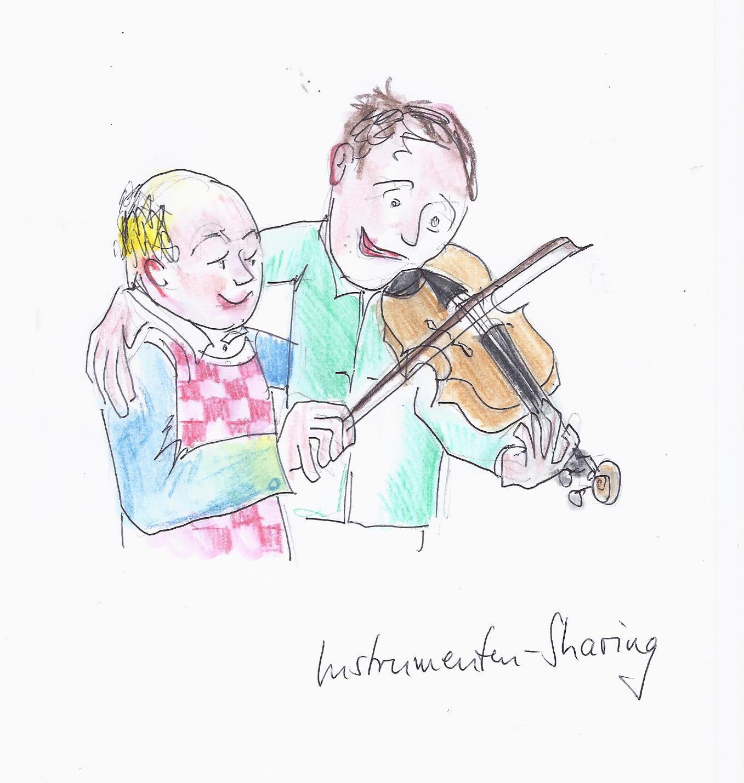 Instrumenten-Sharing